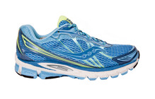 saucony Women's ProGrid Ride 5 blue/citron